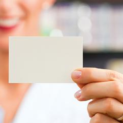Unsere Kundenkarte: viele Vorteile für Sie!